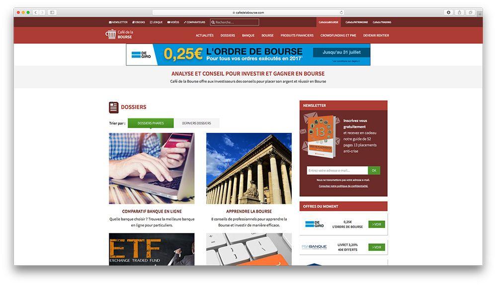 webmastering de site internet