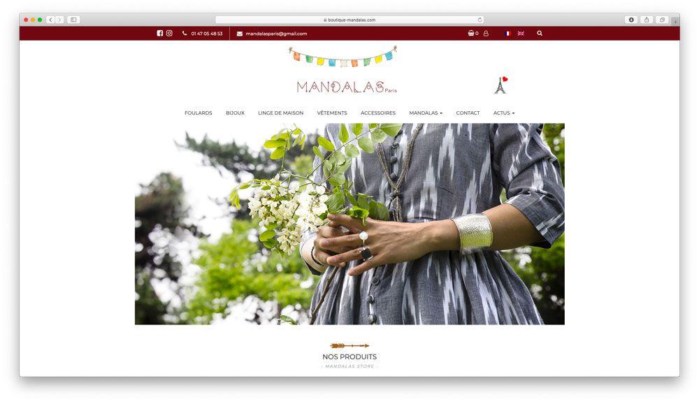 Refonte de site internet e-commerce